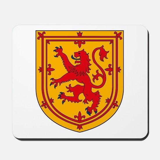 Scottish Coat of Arms Mousepad