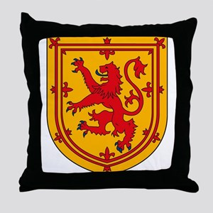 Scottish Coat of Arms Throw Pillow