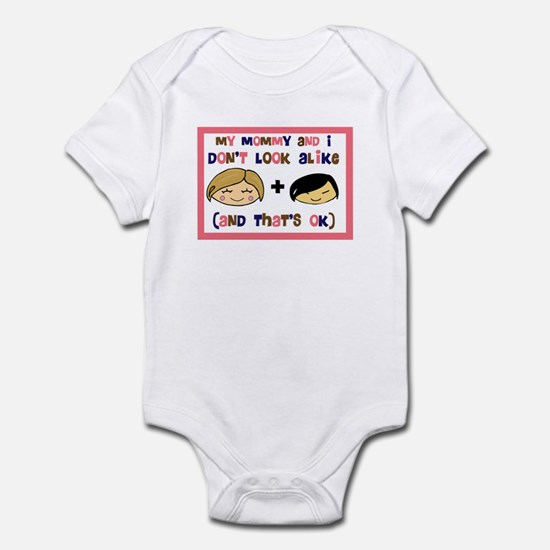 Asian Girl My Mommy and I don Infant Bodysuit