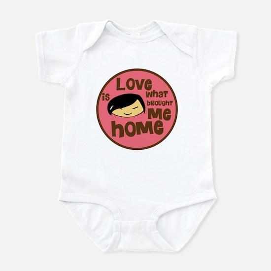 Asian Girl Love Brought Me Ho Infant Bodysuit