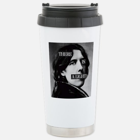 Oscar is a Light Stainless Steel Travel Mug