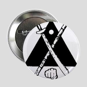 """Escrima/Arnis logo 2.25"""" Button"""