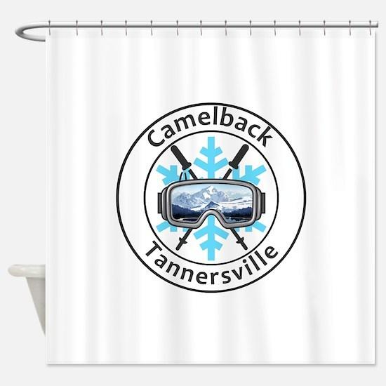 Camelback Ski Area - Tannersville Shower Curtain