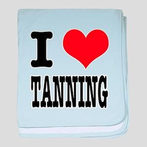 I Heart (Love) Tanning Infant Blanket