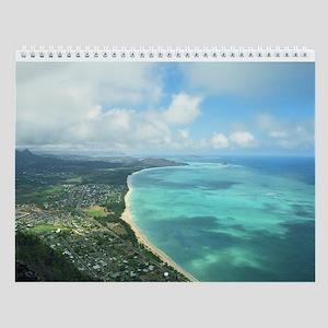 Oahu Hawaii Tropical Wall Calendar