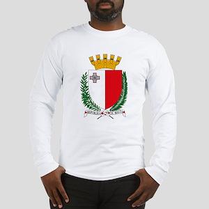 Malta Coat of Arms Long Sleeve T-Shirt
