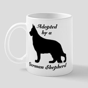 ADOPTED by German Shepherd Mug