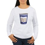 NYC Coffee Cup Women's Long Sleeve T-Shirt