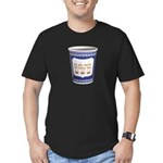 NYC Coffee Cup Men's Fitted T-Shirt (dark)
