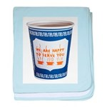 NYC Coffee Cup Infant Blanket