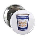 """NYC Coffee Cup 2.25"""" Button"""