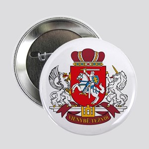 """Lithuania Coat of Arms 2.25"""" Button (10 pack)"""
