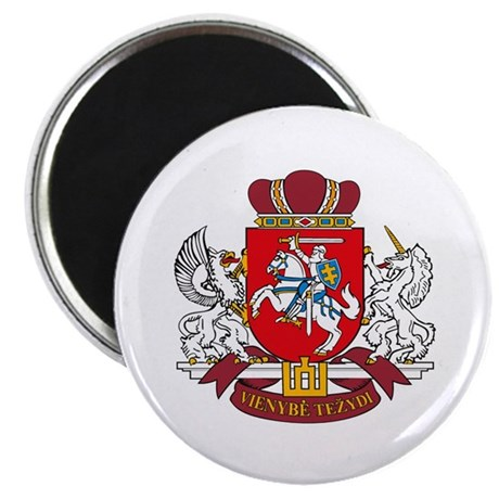 "Lithuania Coat of Arms 2.25"" Magnet (10 pack)"