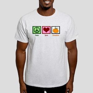 Peace Love Pumpkin Light T-Shirt