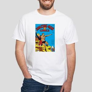 $19.99 Classic Amazing-Man White T-Shirt