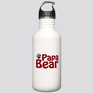 Papa Bear Claw Stainless Water Bottle 1.0L