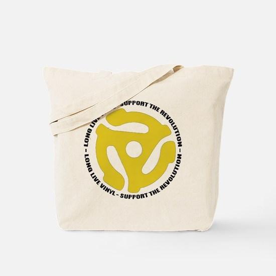 DJ - Long Live Vinyl Tote Bag