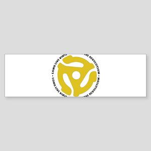 DJ - Long Live Vinyl Sticker (Bumper)