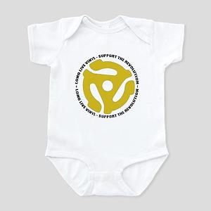 DJ - Long Live Vinyl Infant Bodysuit