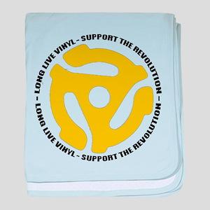 DJ - Long Live Vinyl Infant Blanket
