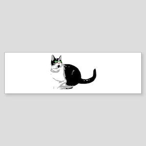 Dizzy Looking Up Sticker (Bumper)