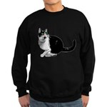 Dizzy Looking Up Sweatshirt (dark)