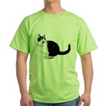 Dizzy Looking Up Green T-Shirt