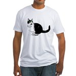 Dizzy Looking Up Fitted T-Shirt