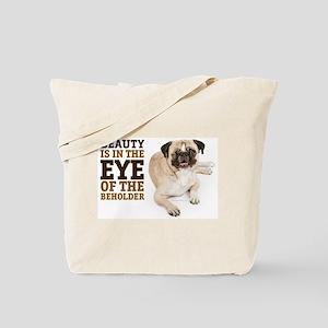 RD Pug Beauty Tote Bag