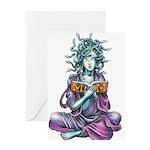 Medusa's Muse logo Greeting Card
