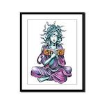 Medusa's Muse logo Framed Panel Print