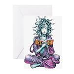 Medusa's Muse logo Greeting Cards (Pk of 10)