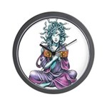 Medusa's Muse logo Wall Clock