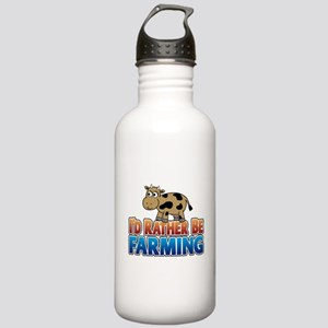 Farmville Inspired Cow Stainless Water Bottle 1.0L