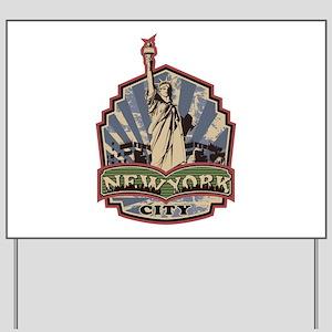 New York City Yard Sign