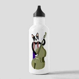 Boston Terrier Bass Stainless Water Bottle 1.0L