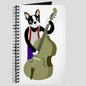Boston Terrier Bass Player Journal