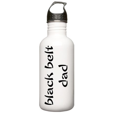 Black Belt Dad Stainless Water Bottle 1.0L