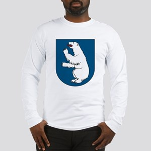 Greenland Coat of Arms Long Sleeve T-Shirt