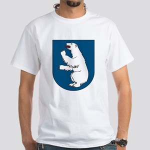 Greenland Coat of Arms White T-Shirt