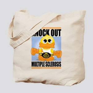 Knock Out Multiple Sclerosis Tote Bag
