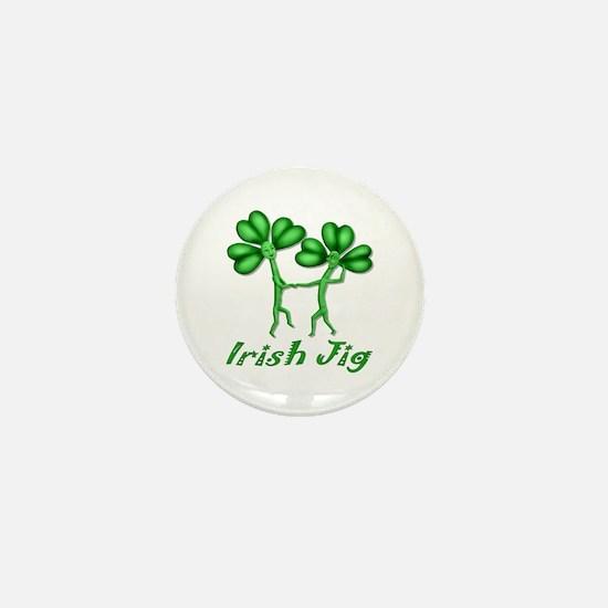 Irish Jig Mini Button