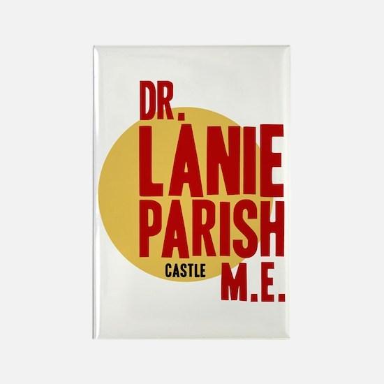 Castle Dr. Lanie Parish ME Rectangle Magnet