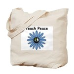 Teach Peace Tote Bag