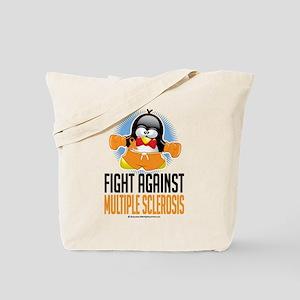 MS Boxing Penguin Tote Bag