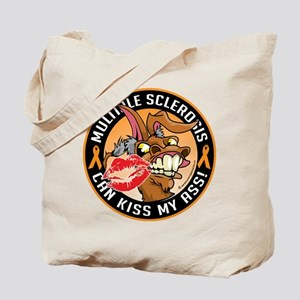 Multiple Sclerosis Can Kiss M Tote Bag