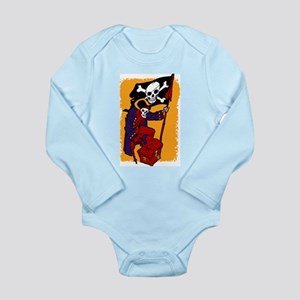 Pirate chest Long Sleeve Infant Bodysuit