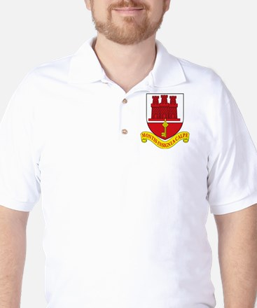Gibraltar Coat of Arms Golf Shirt