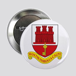 "Gibraltar Coat of Arms 2.25"" Button (10 pack)"