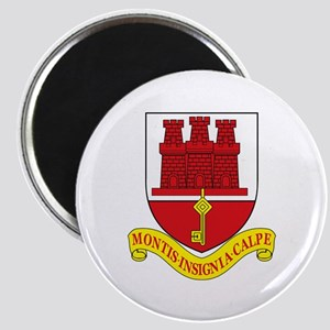 "Gibraltar Coat of Arms 2.25"" Magnet (10 pack)"